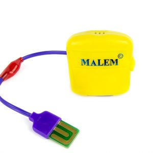 28.22x18.8 Malem Yellow MO3 Bedwetting Alarm with standard sensor