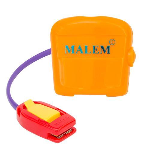 Orange Malem Bedwetting Alarm with Clip