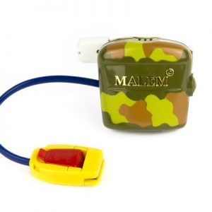 Ultimate Malem Bedwetting Alarm with Clip in Camouflage